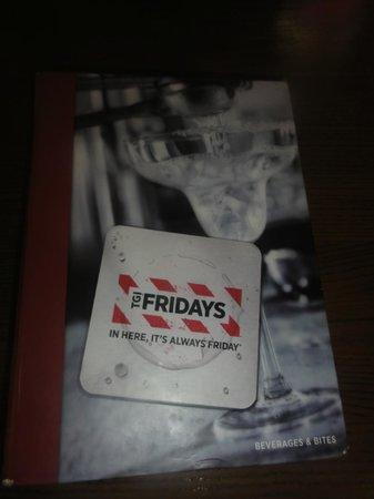 TGI Friday's: menu