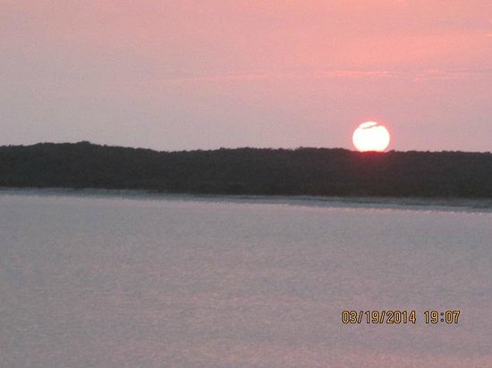 Hideaways at Palm Bay: Sunset at