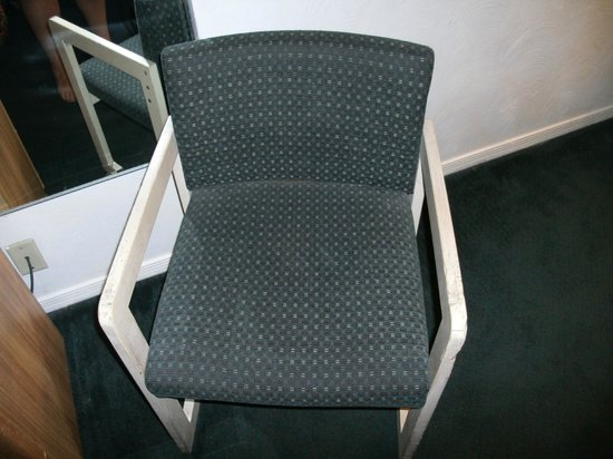 Howard Johnson Inn - Tucson Downtown: chewed on chair