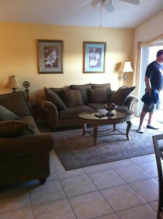Terra Verde Resort Kissimmee Florida: Living Room