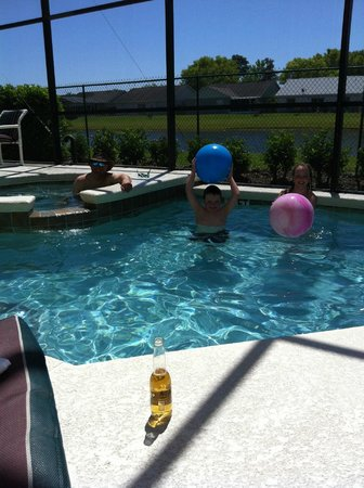 Terra Verde Resort Kissimmee Florida: Pool Fun!