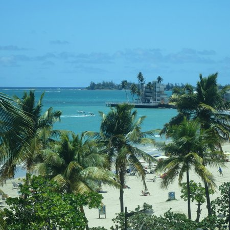 San Juan Water & Beach Club Hotel : View from the rooftop