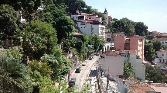 Rio Hostel & Suites Santa Teresa: Vista a partir do hostel