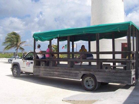 Faro Celerain Ecological Reserve : Park 7 ride vehicle