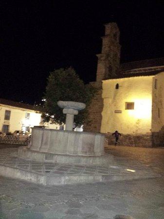 San Blas: simpático à noite