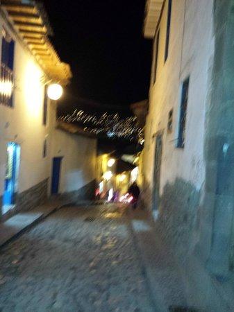 San Blas: ruas vazias