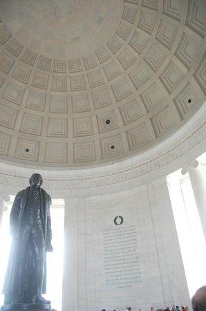 Jefferson Memorial : Jefferson, ceiling