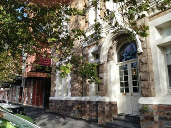 Adabco Boutique Hotel : View from Wakefield Street