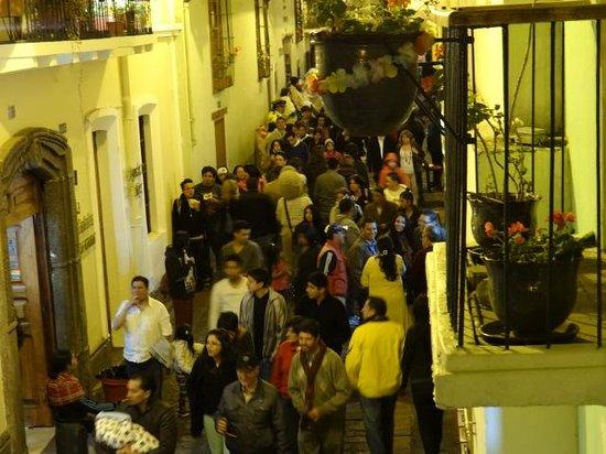 Hostal La Ronda : Los Visitantes Nocturnos