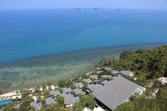 Conrad Koh Samui: View from Arrivals