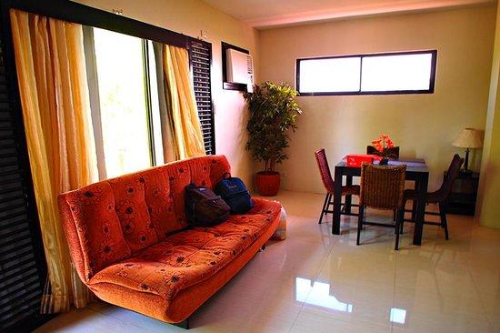 Punta de Fabian: Living room - Junior Suite