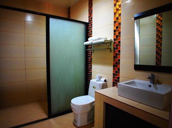Punta de Fabian: Bath room - Junior Suite