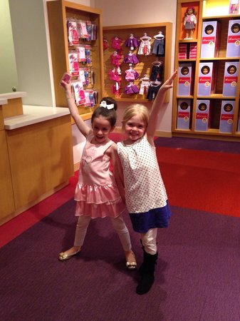 American Girl Place - New York: Loving american girl!