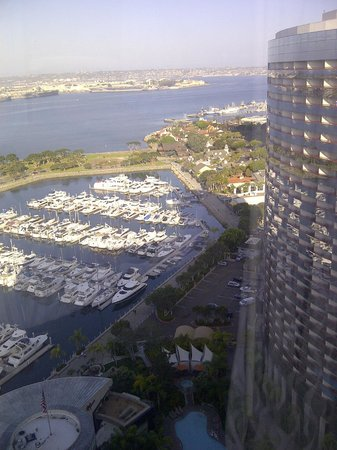 Marriott Marquis San Diego Marina: SD Marriott Marquis view from 25th floor
