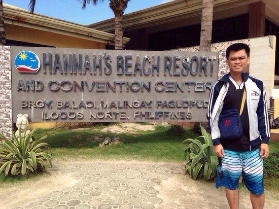 Hannah's Beach Resort and Convention Center: #2014tour