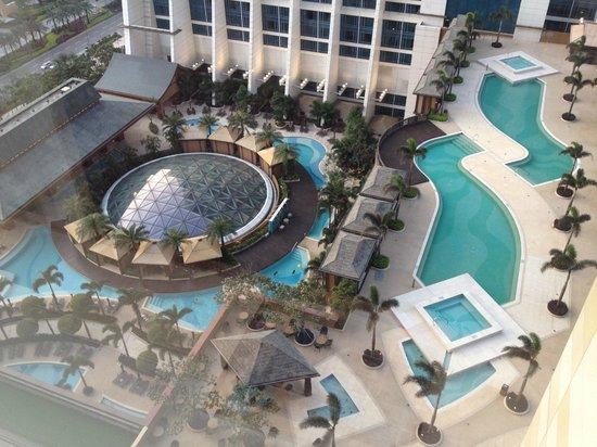 Sheraton Grand Macao Hotel, Cotai Central: Lots of pools