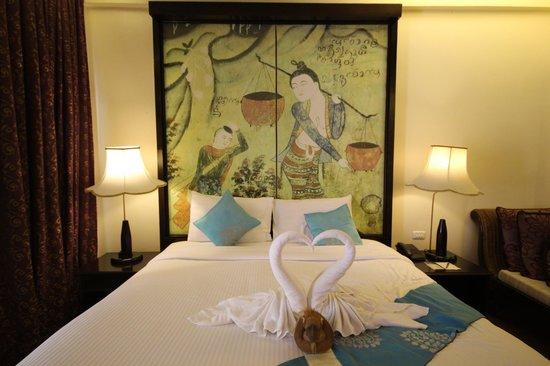 Dara Samui Beach Resort: Comfortable bed