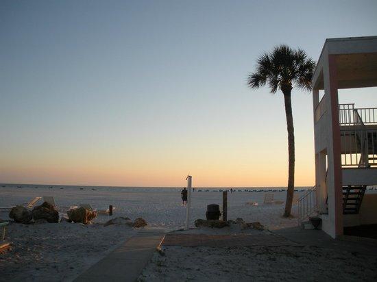 Carousel Inn on the Beach : the path to the beach (a little long)