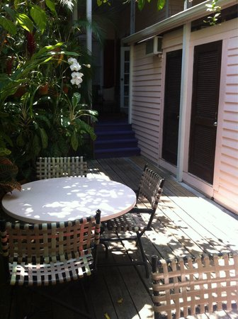 Key West Bed and Breakfast: Garten