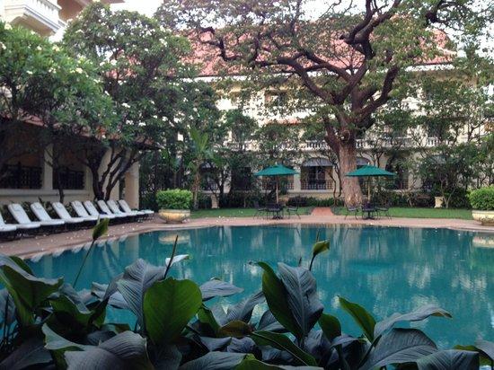 Raffles Hotel Le Royal: one of both swimming pools