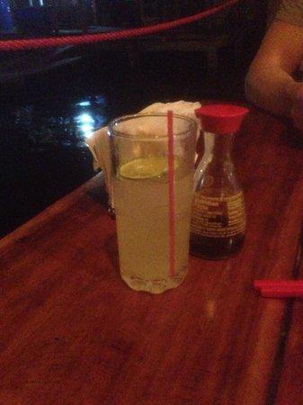 Raw Fusion : Vodka lemonade