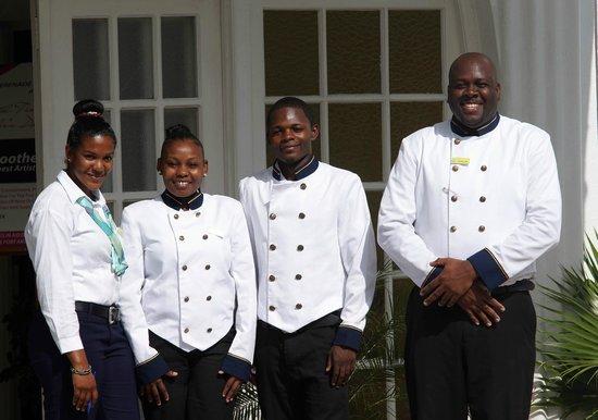 Hotel Tim Bamboo staff