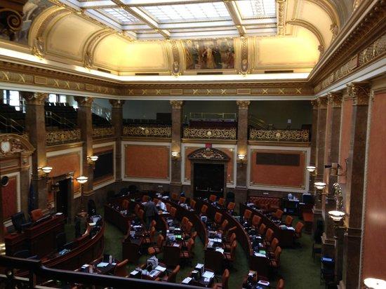 Utah State Capitol: Senate chamber
