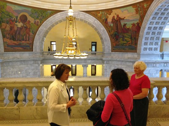 Utah State Capitol: Our guides