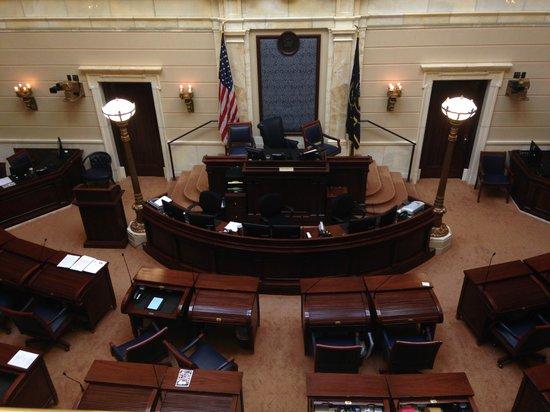 Utah State Capitol: Another senate room