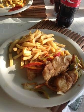 Travellers Beach Resort: My fav dish for lunch