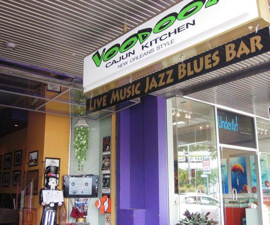 Voodooz Cajun Kitchen: the shop front for Voodooz