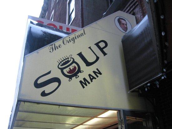 The Original SoupMan: No soup for you!