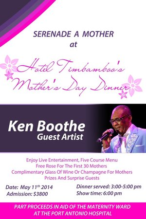 Hotel Tim Bamboo: Mother's Day 2014