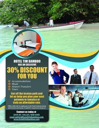 Hotel Tim Bamboo: Discount