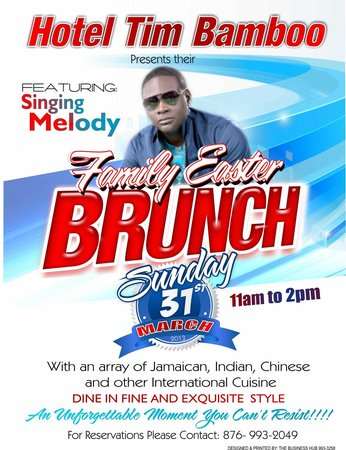 Hotel Tim Bamboo: Easter Bruch 2014