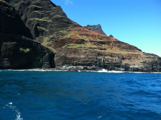 Kauai Sea Tours: It almost looks fake!