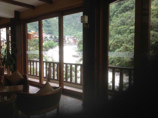 SUMAQ Machu Picchu Hotel: View from restaurant
