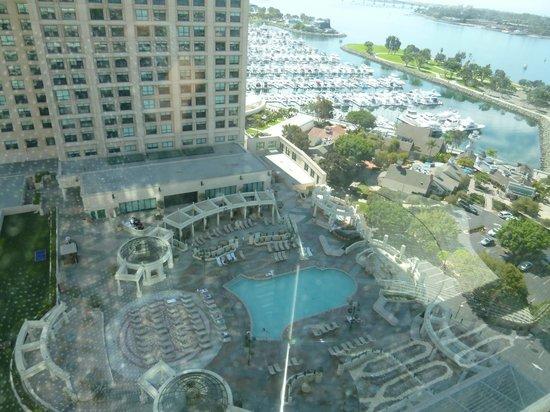 Manchester Grand Hyatt San Diego: view from 19f