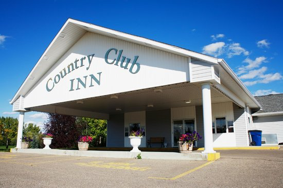 Country Club Inn : Front view