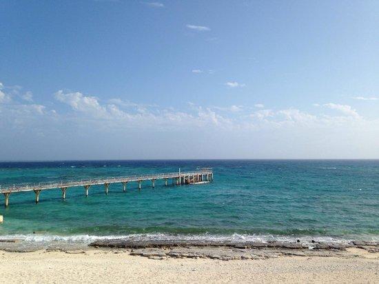 Nagannu Island : 桟橋。