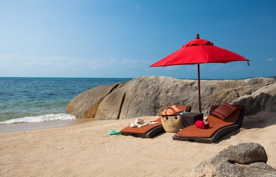 Rocky's Boutique Resort: Private Beach