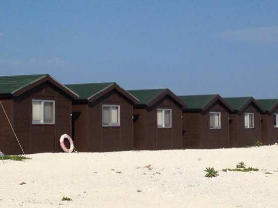 Nagannu Island : 宿泊施設です。