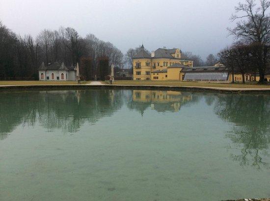 Palacio de Hellbrunn: Jardins de Schloss Hellbrun
