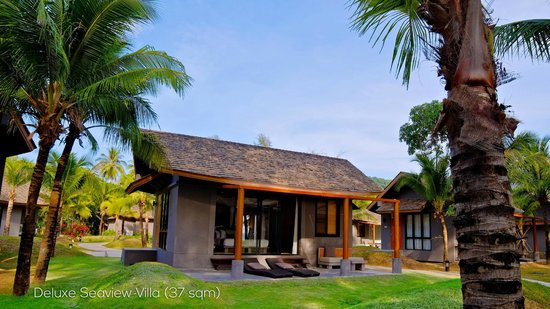 Twin Lotus Resort & Spa: Deluxe Seaview Villa
