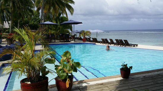 Manuia Beach Resort: Cool down time