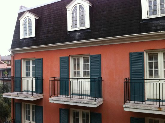 Dauphine Orleans Hotel: Better weather the following day