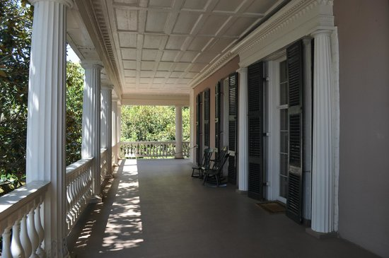 Edmondston-Alston House: View from the 2nd floor piazza