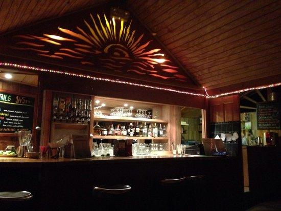 Caribbean Kitchen at Castara Retreats: The bar