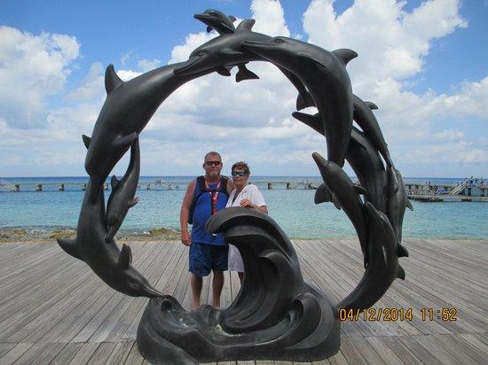 Chankanaab Beach Adventure Park: the dolphin area