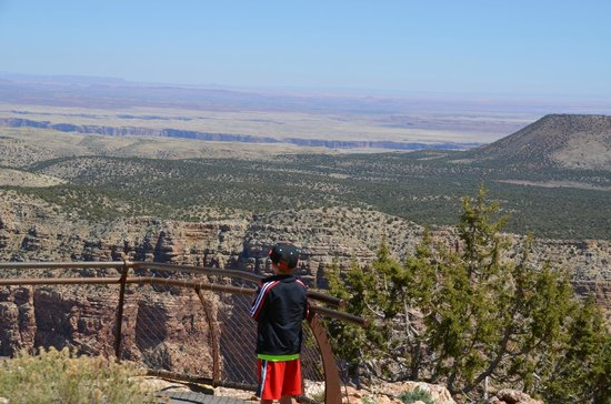 Grand Canyon Association: view from the watchtower